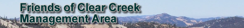 Friends of Clear Creek Management Area